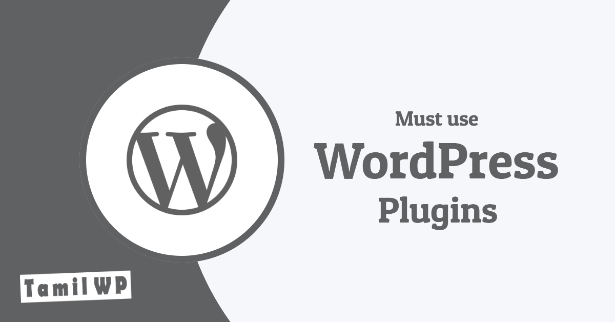 Top 10 Useful WordPress plugins in Tamil